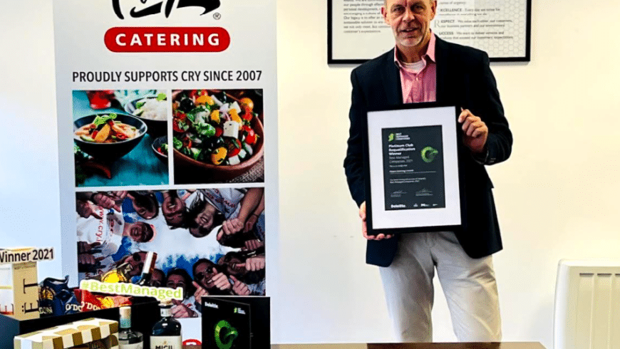 Fitzers Catering Limited announced as one of Ireland's Best Managed Companies 2021