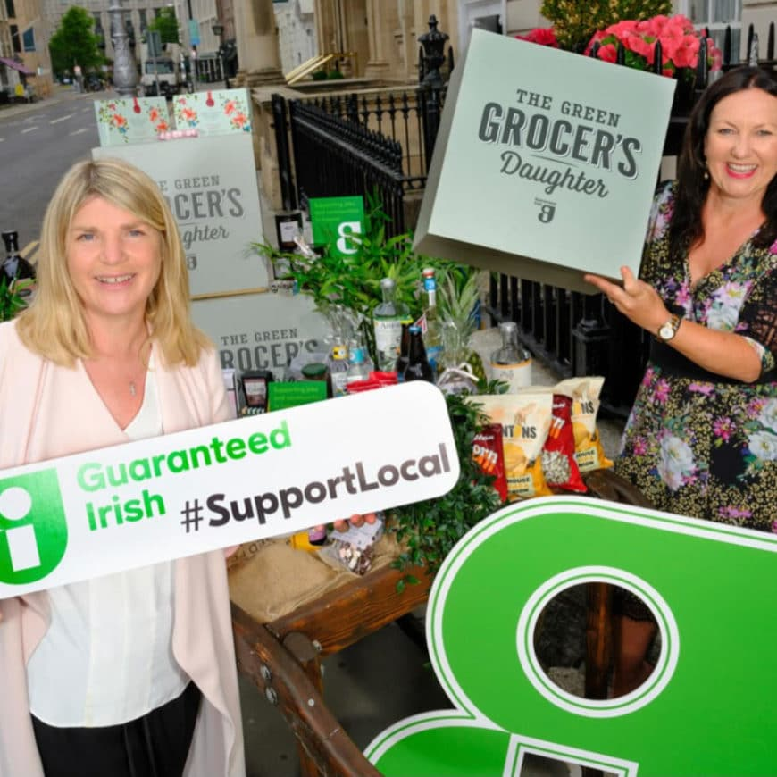 """Guaranteed Irish Collaborates with """"The Green Grocer's Daughter"""""""